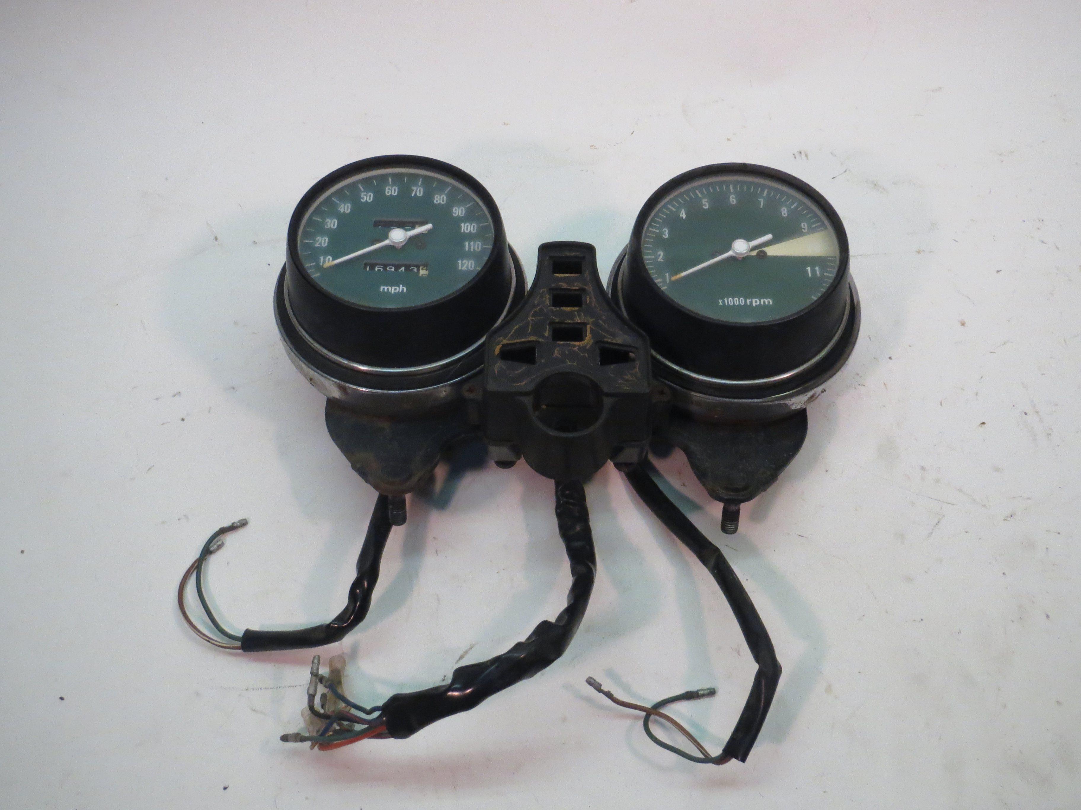 Honda CB500 CB550 CB750 Speedometer Tachometer speedo tach 77