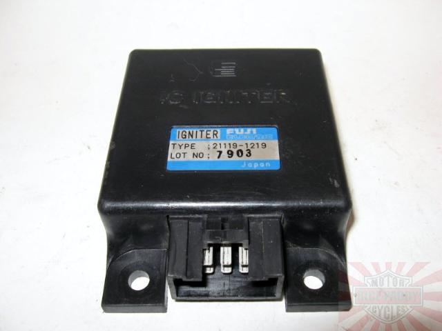 Kawasaki Cdi Ignitor Ignition Control Black Box En450 En500 454 Ltd Vulcan 500
