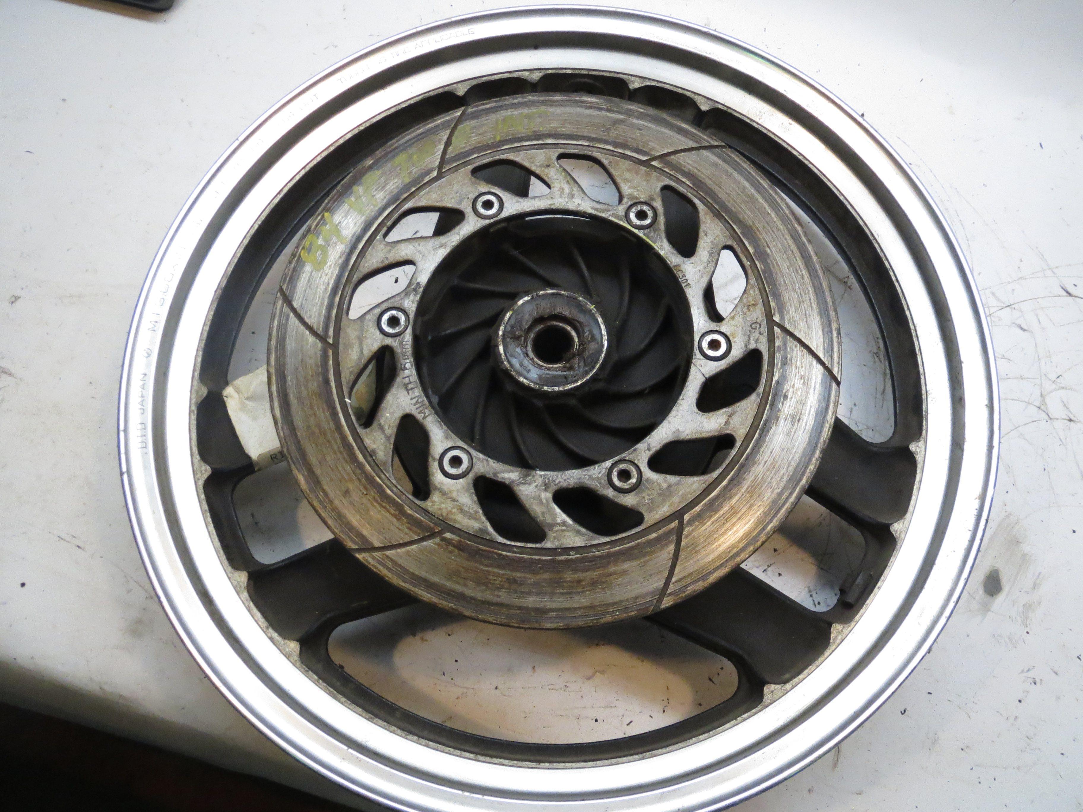 Honda VF700F VF750F VF 700 750 F Interceptor Rear Wheel