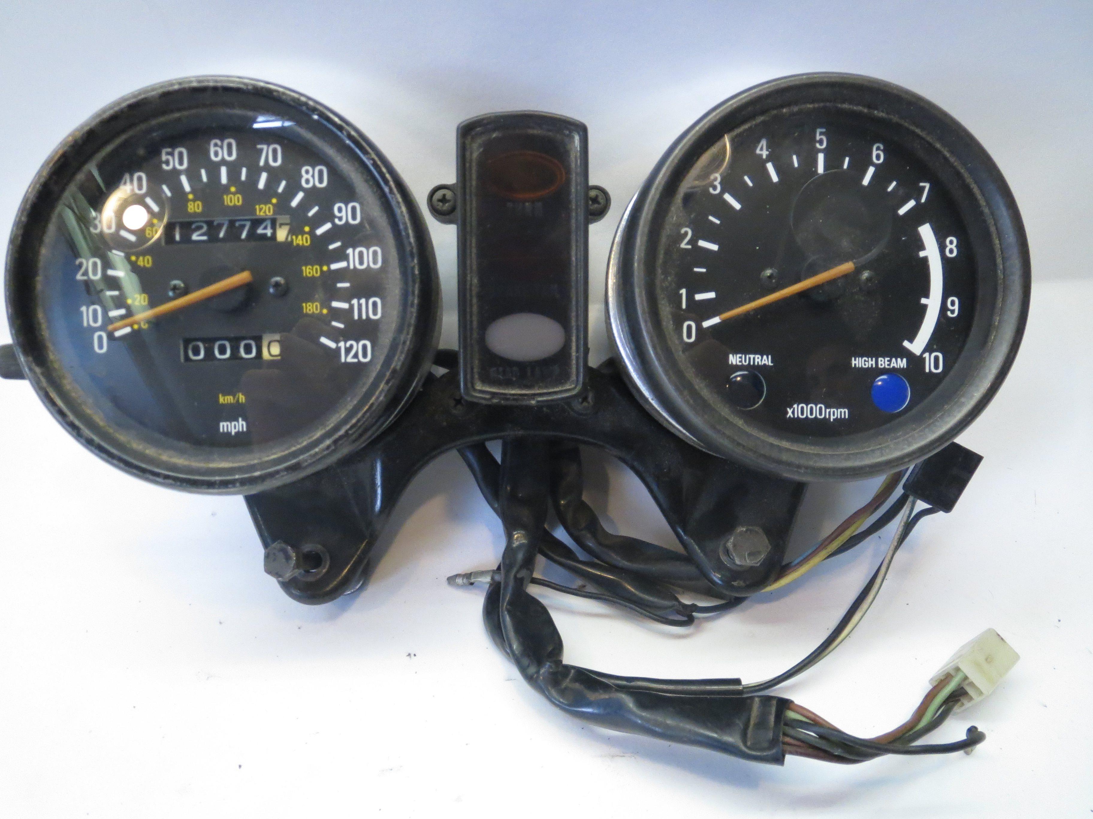 Yamaha Xs650 Special Speedometer Tachometer Gauges Complete Clip
