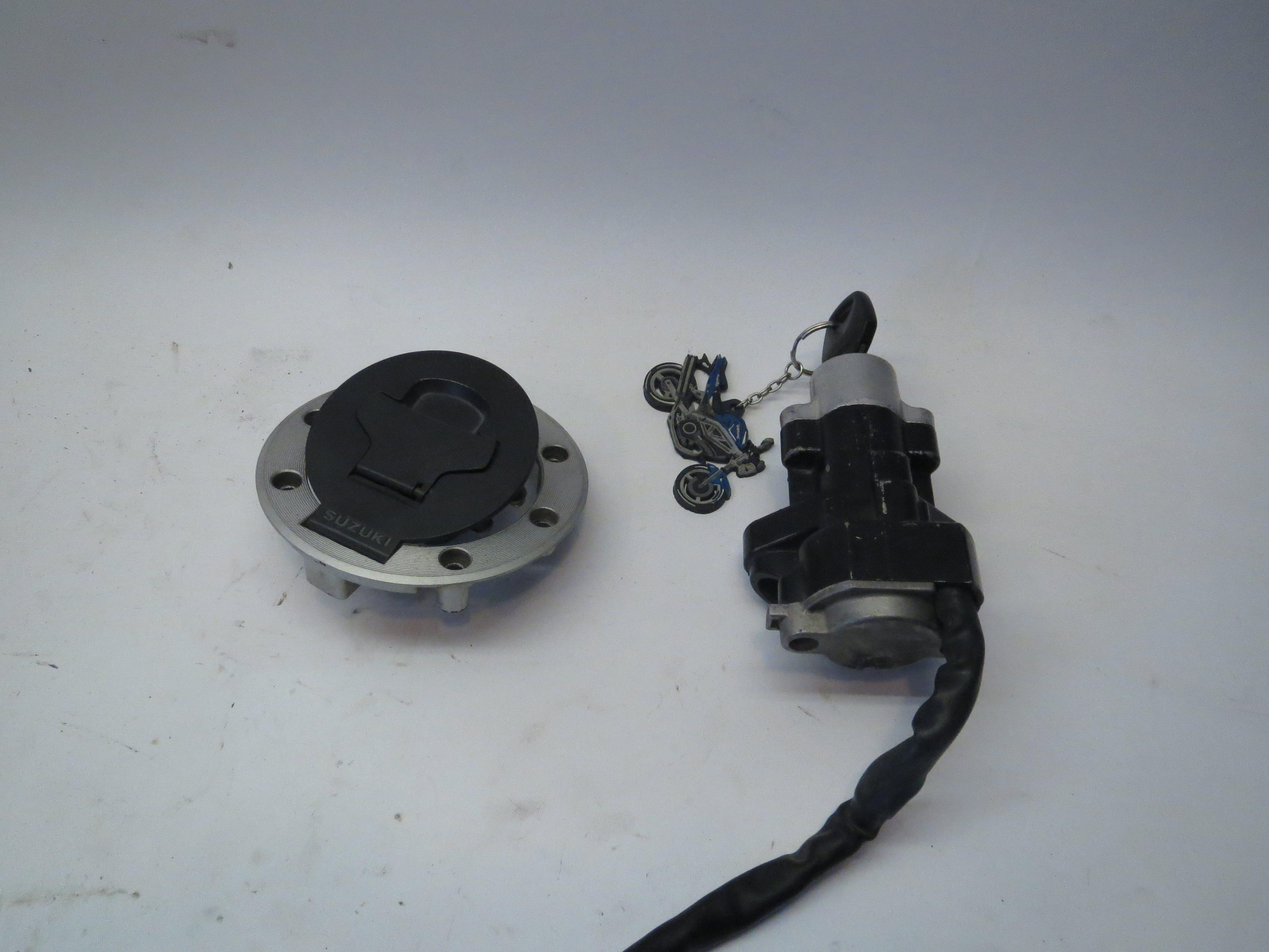 1999-2002 Ignition Switch Fuel Tank Cap Lock Set For Suzuki SV650