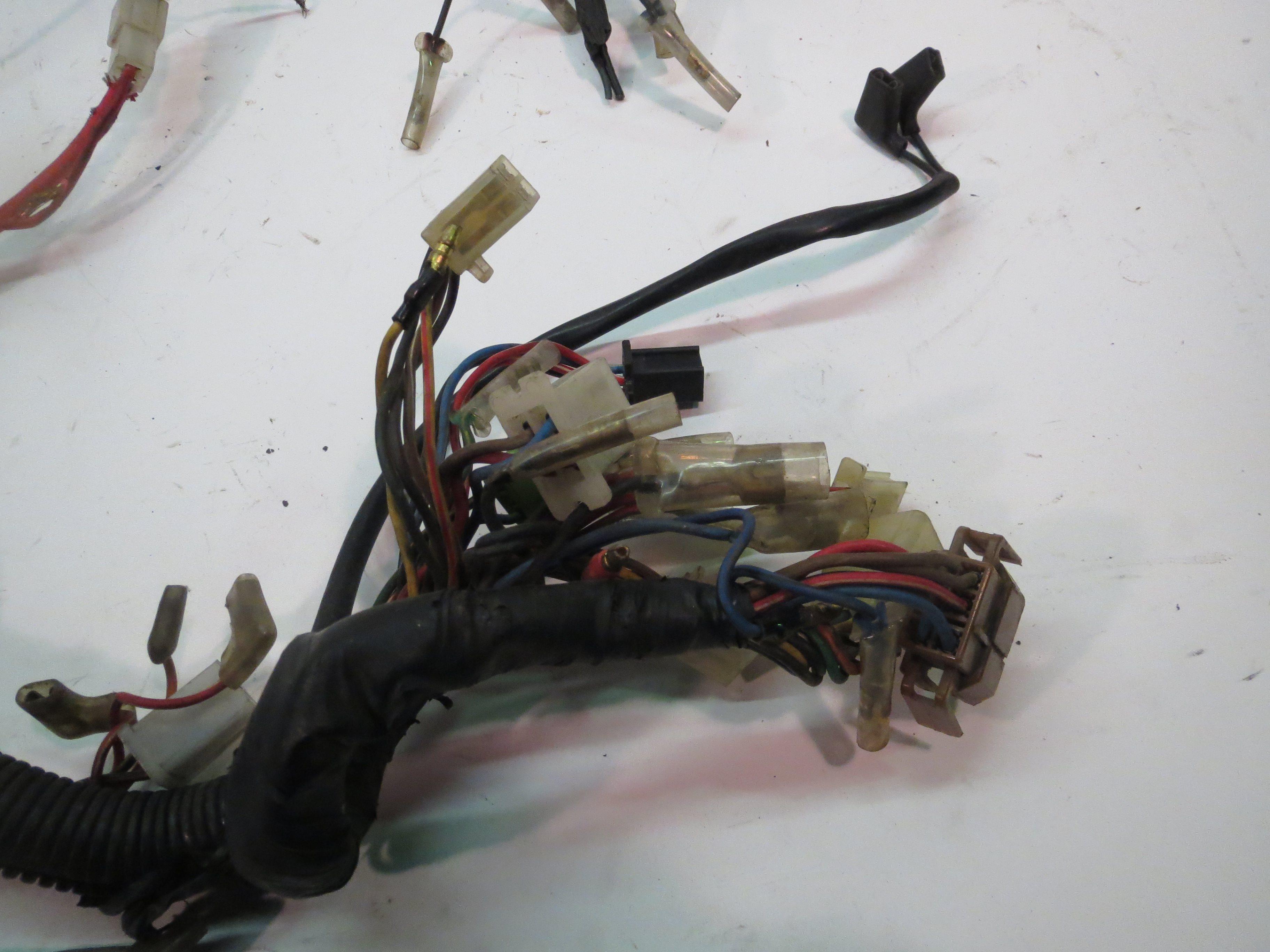 Yamaha Xv1000 Virago Main Wiring Harness 84 85 Xv700 Diagram