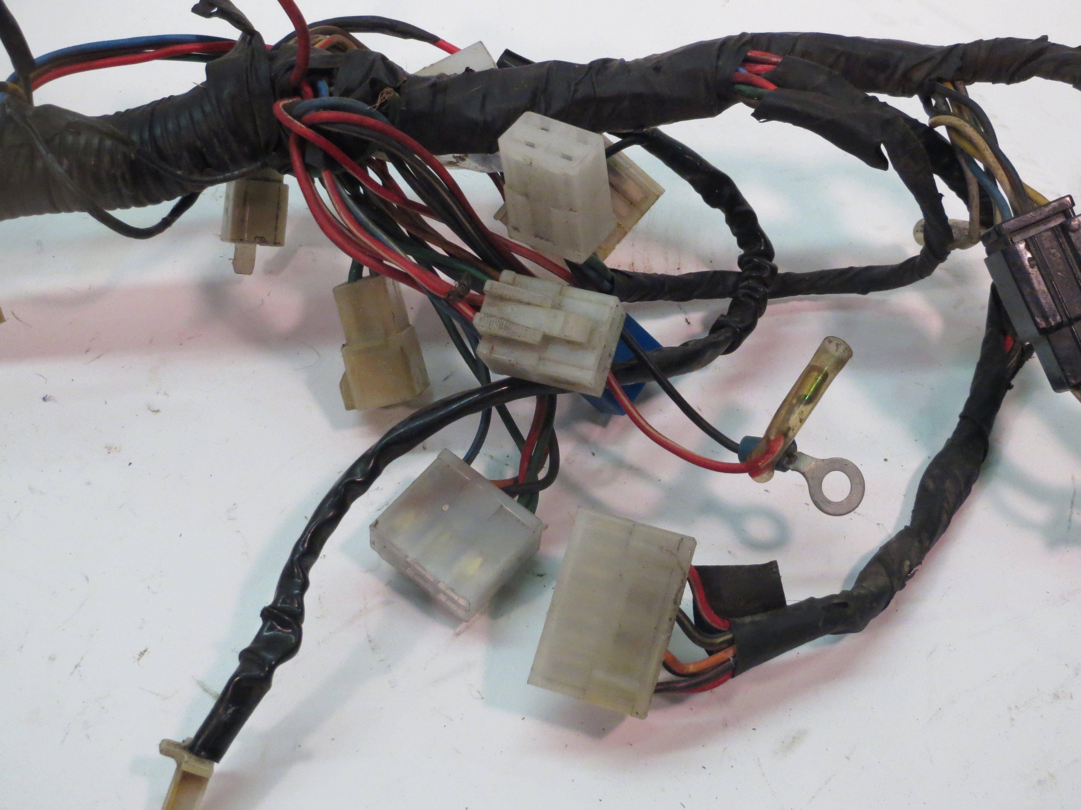 Yamaha Xv1000 Virago Main Wiring Harness 84