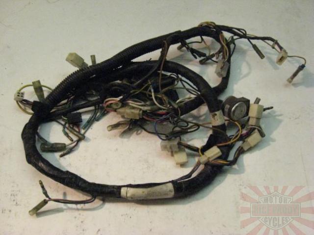 2004 pontiac sunfire stereo wiring harness kz440 wiring harness kawasaki kz440-a kz440a kz 440 a main harness loom