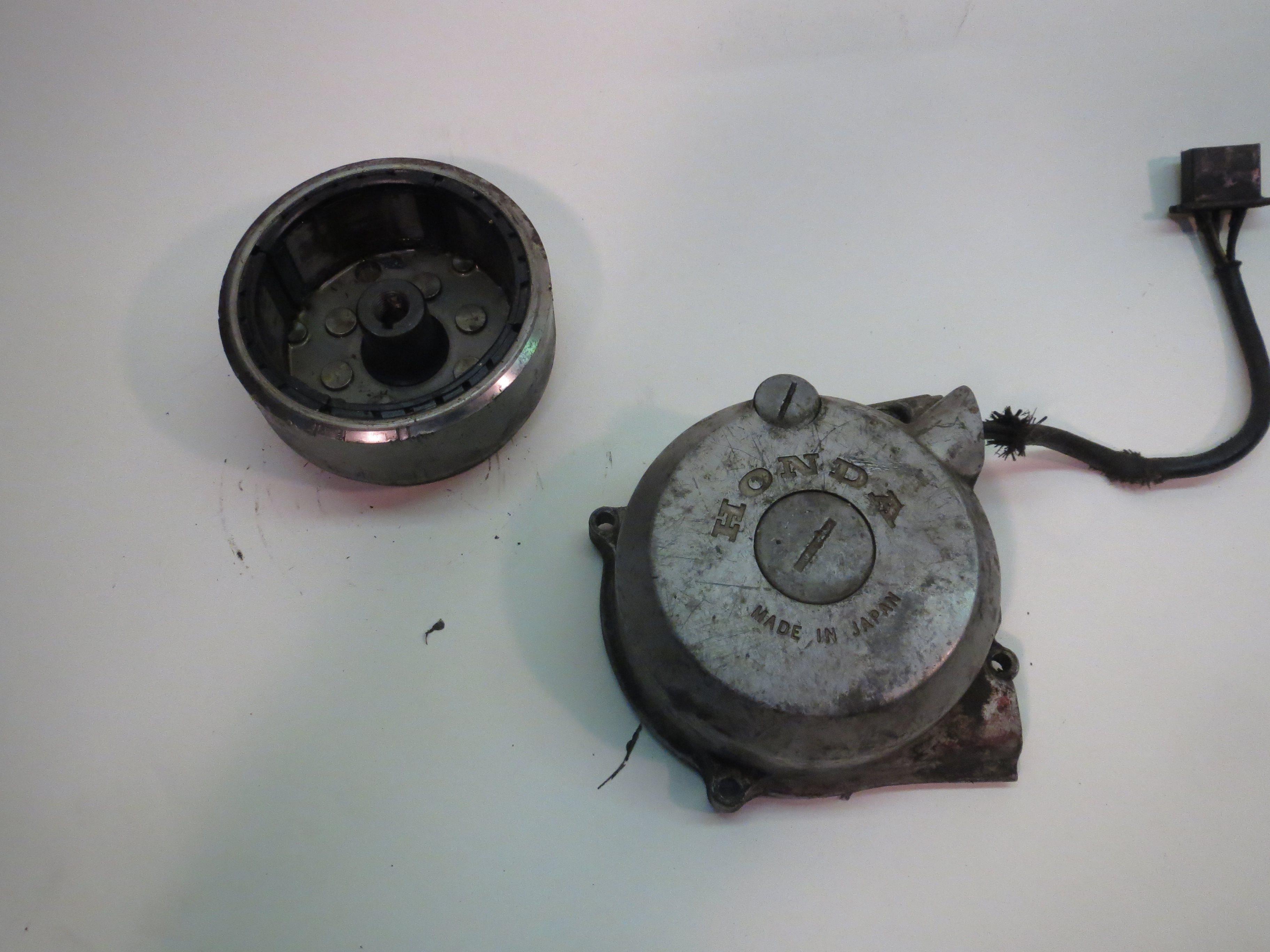 Honda XL185 Charging Rotor and Stator 79 - 82