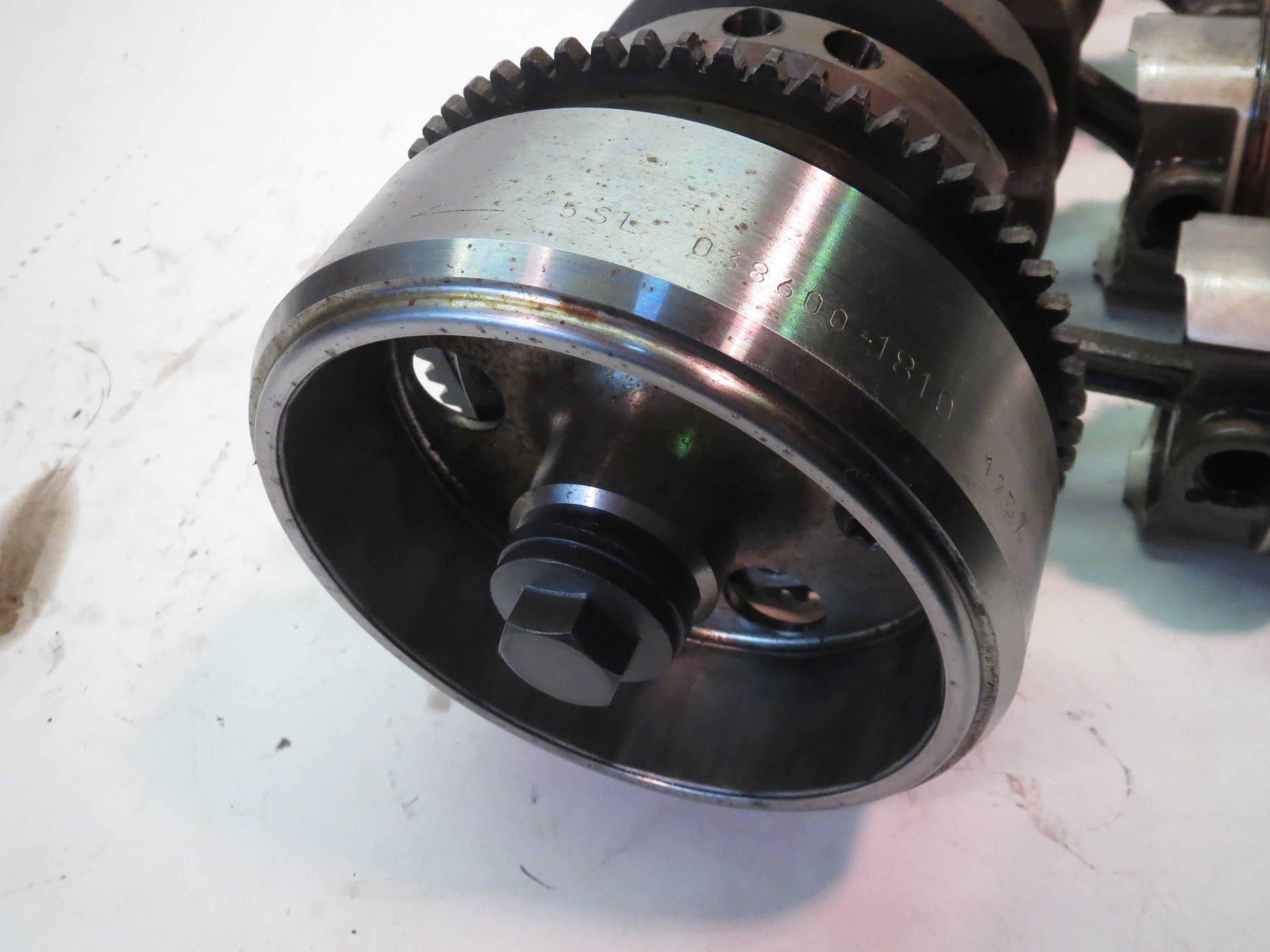 Yamaha YZF R6 Charging Rotor 03