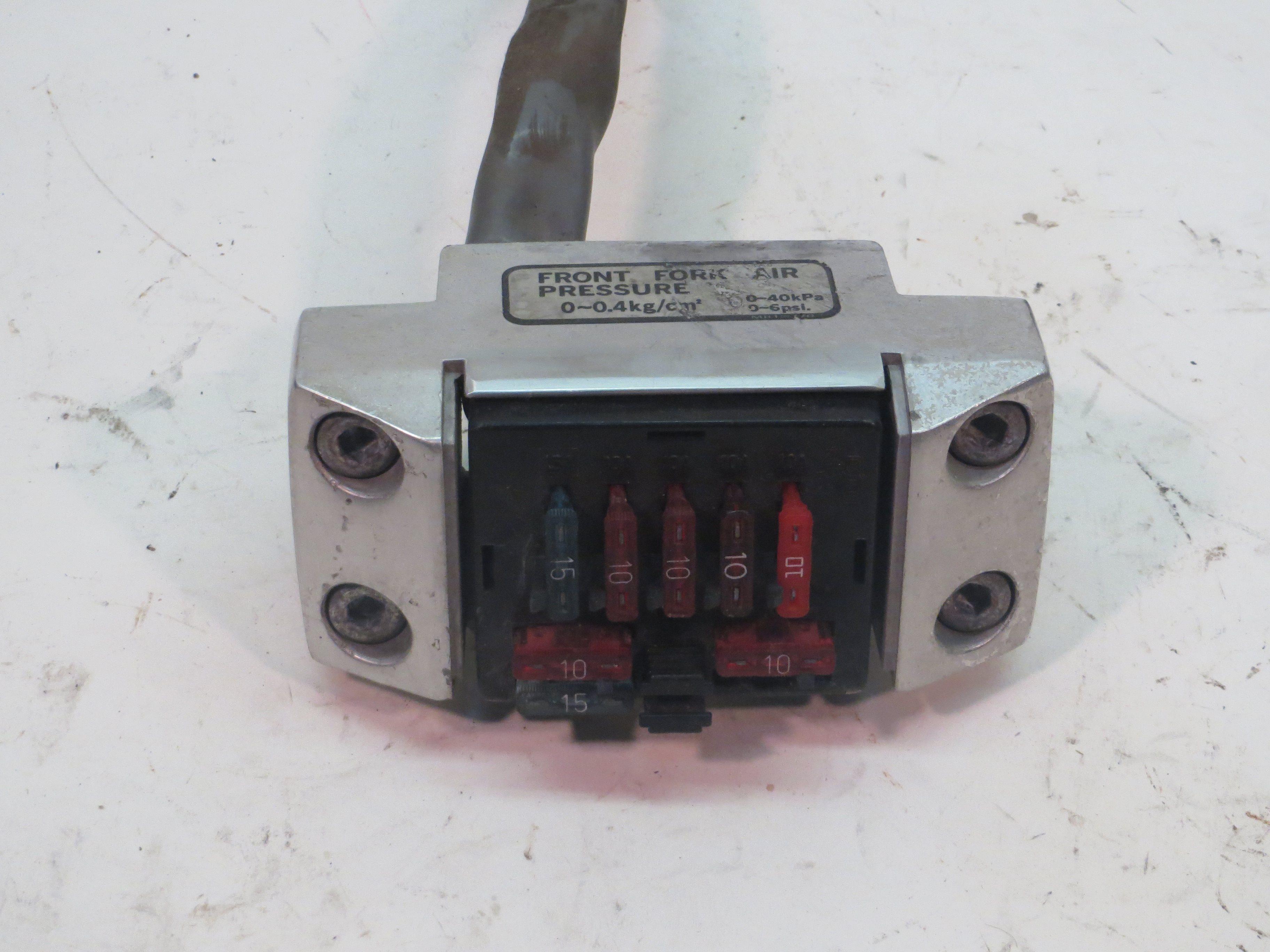 honda shadow 600 fuse box location fuse for honda shadow box honda vt500c shadow fuse box 86